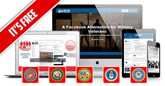 free facebook alternative social media network alternative to facebook for Military Veterans