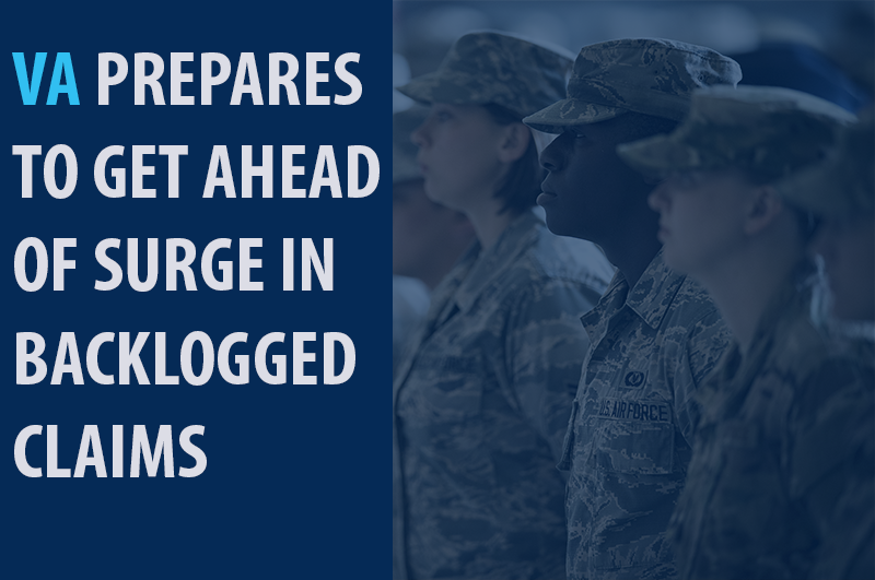 va prepares to get ahead of surge in backlogged claims
